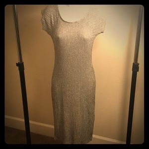 Marked gray pencil dress